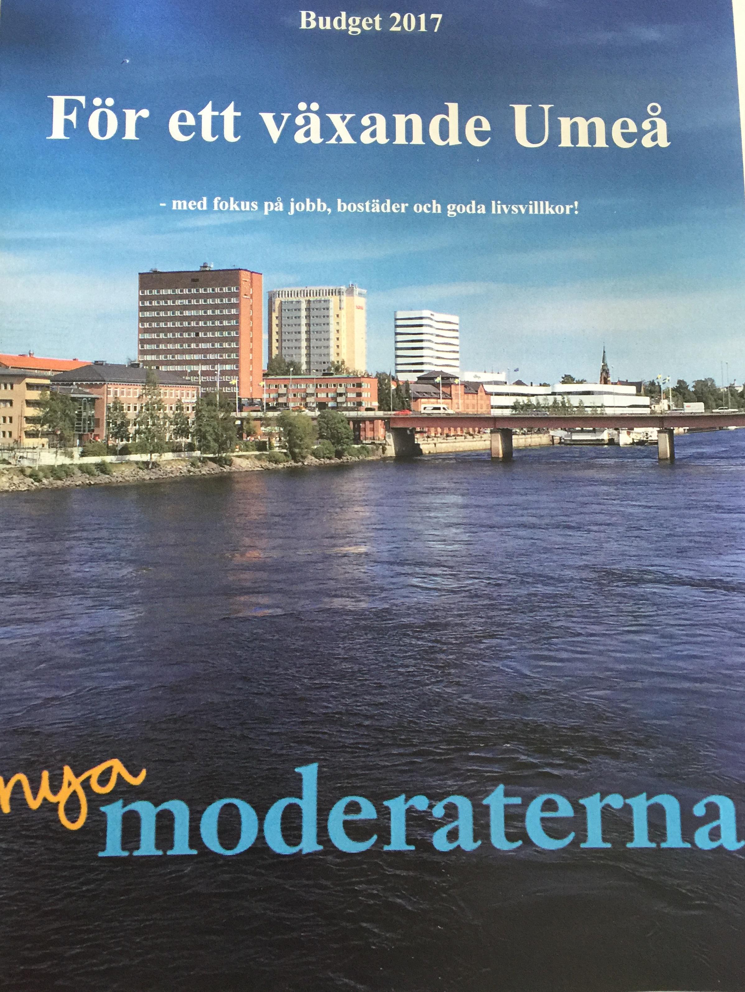 Opinion: Umeå behöver mer av borgerlig politik!