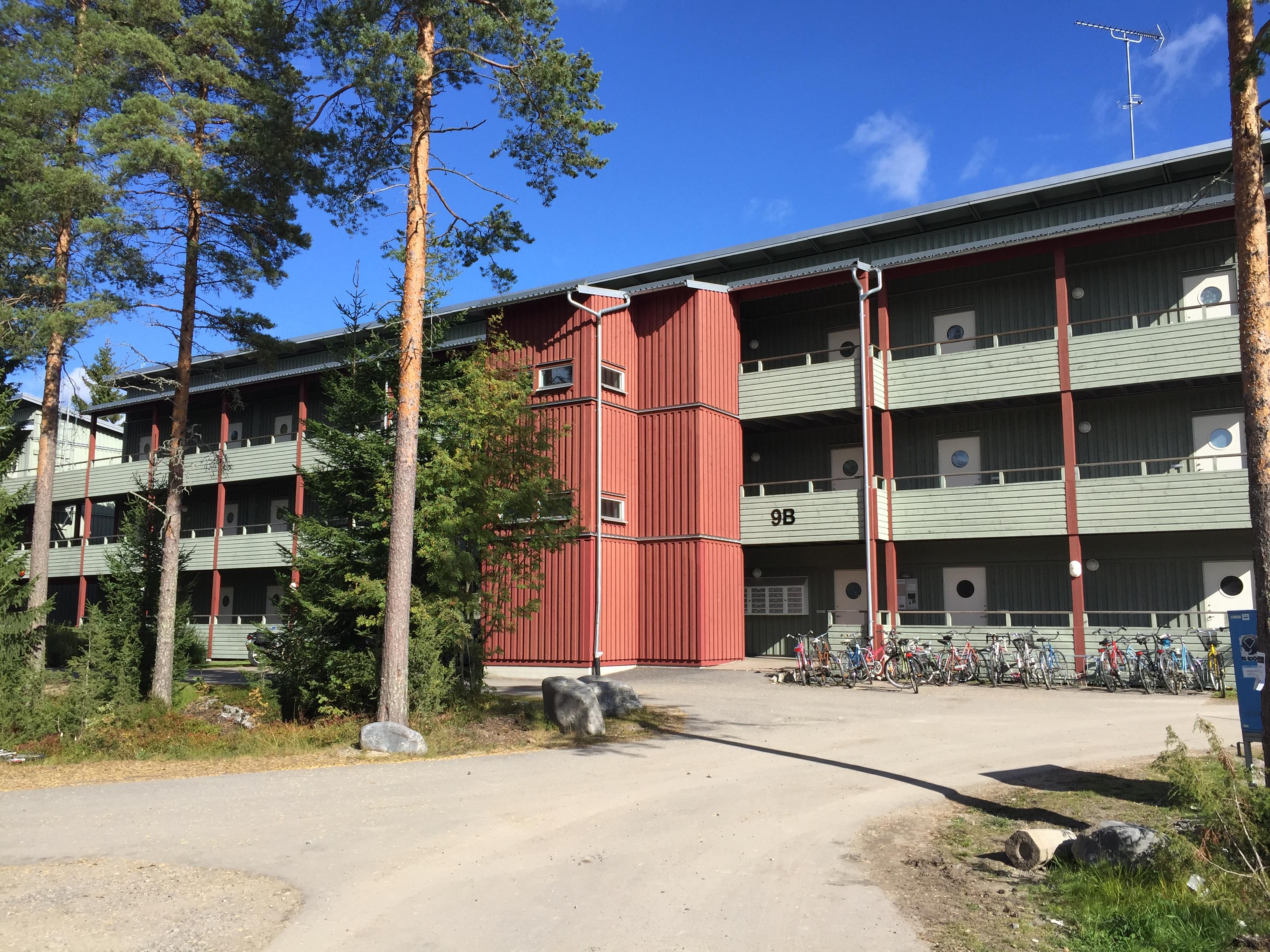 Umeå en rödlistad stad när det gäller studentbostäder.