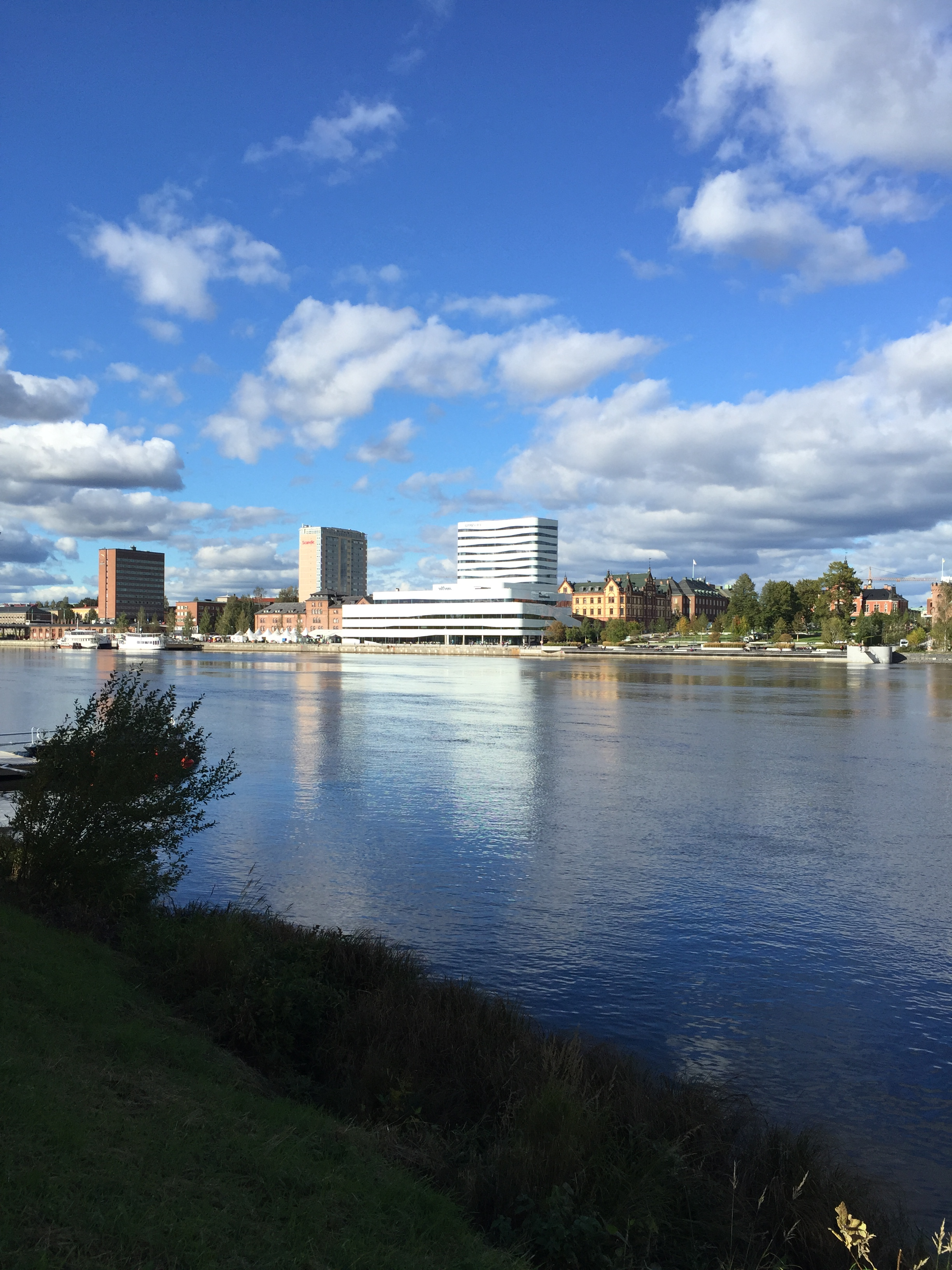 Umeå växer snabbare än Stockholm