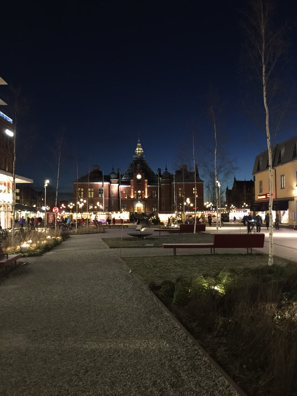 Vill underlätta för centrumhandeln i Umeå