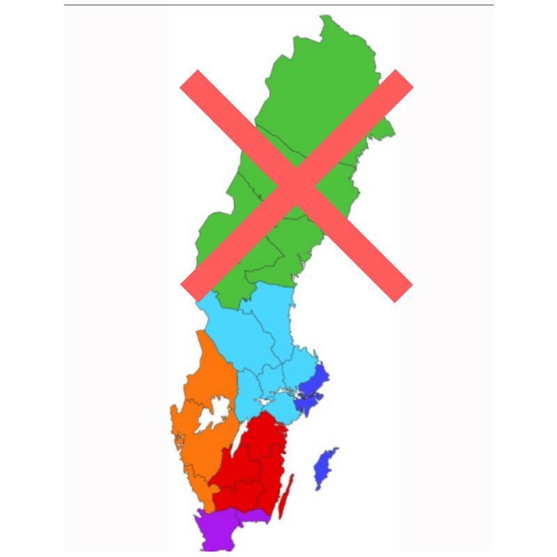 Ingen sammanslagning av länsstyrelserna till 2018