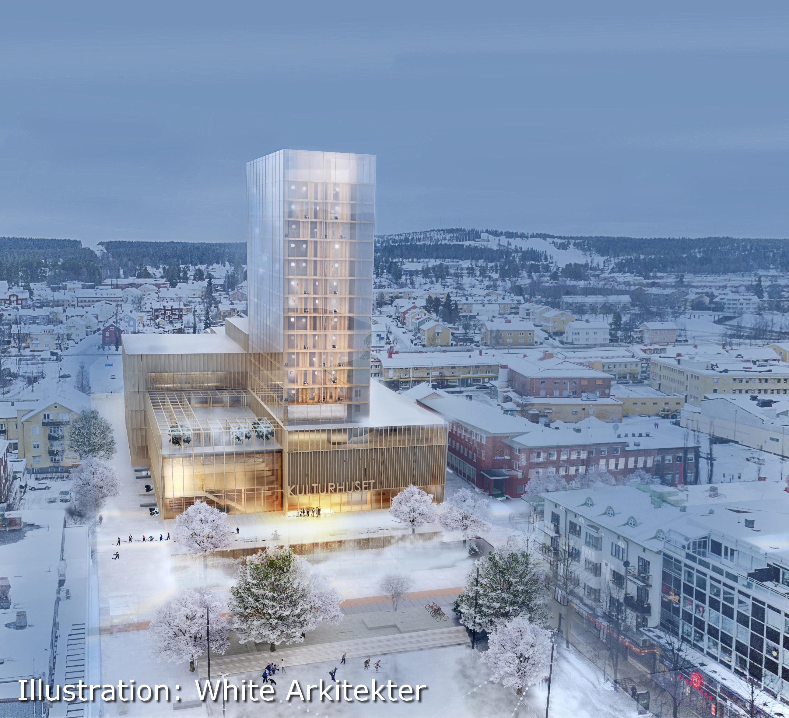Skenande kostnader för Kulturhuset i Skellefteå – M vill dra i handbromsen