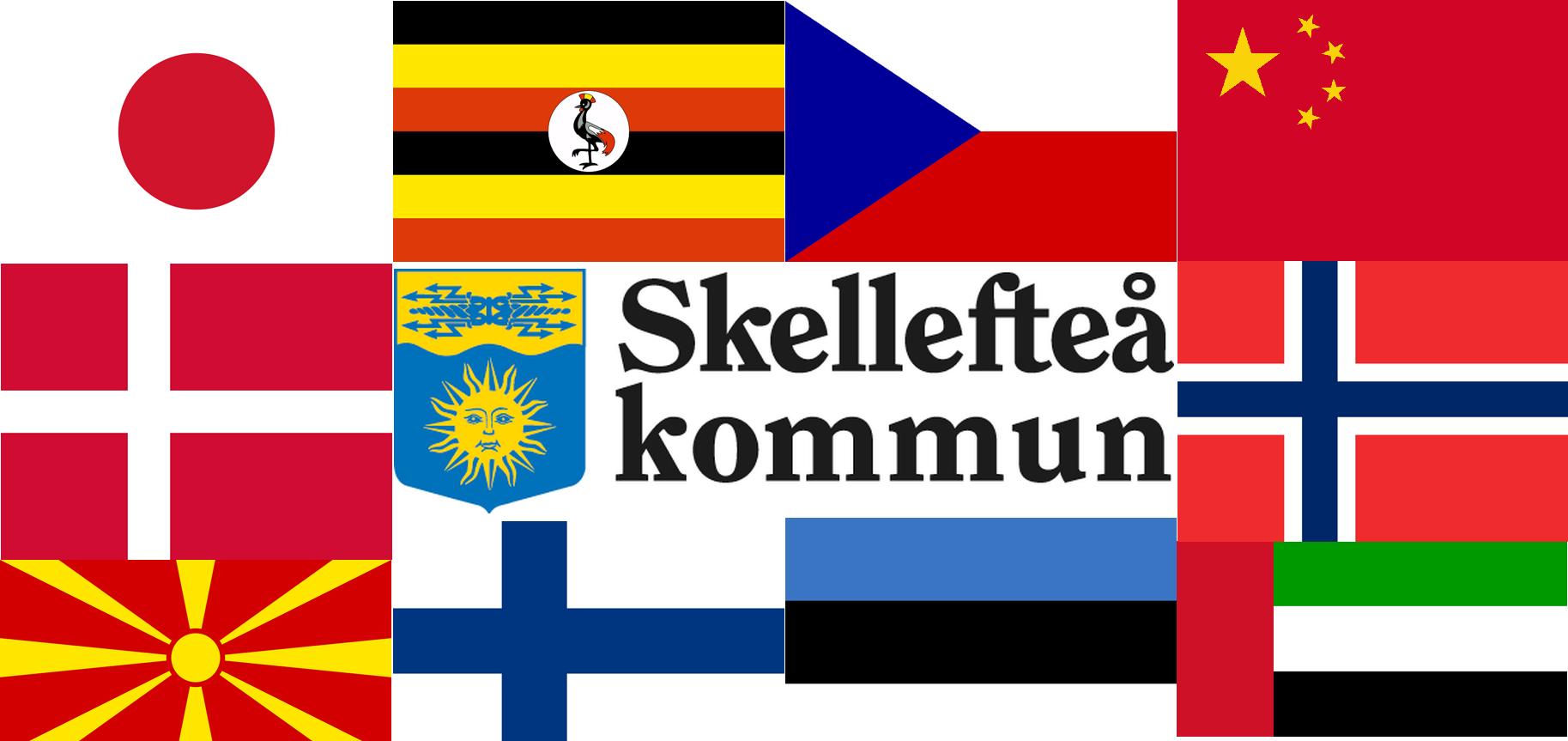 Politiskt strid om Skellefteås internationella samarbeten