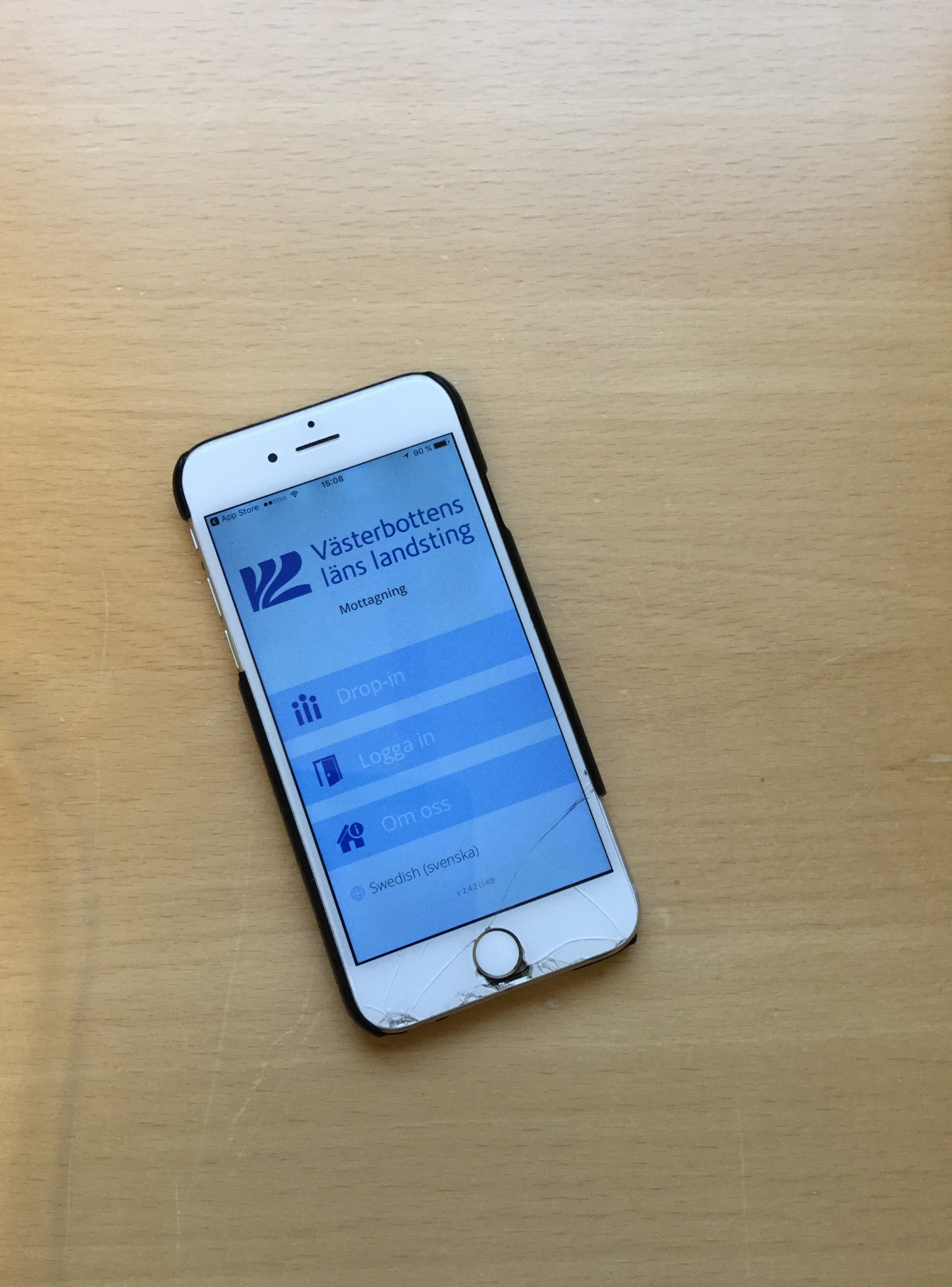 Nu finns Ungdomsmottagningen i Västerbotten även som app till mobilen och surfplattan