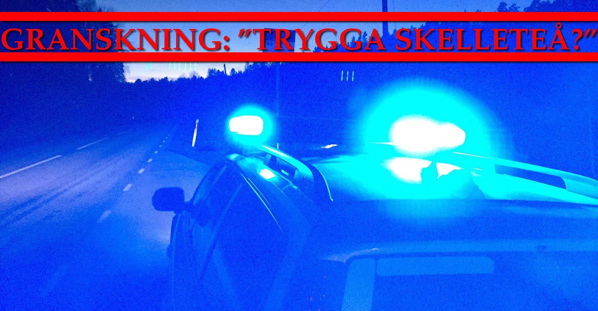 Granskning del 1: Brottsligheten är nu den högsta någonsin i Skellefteå