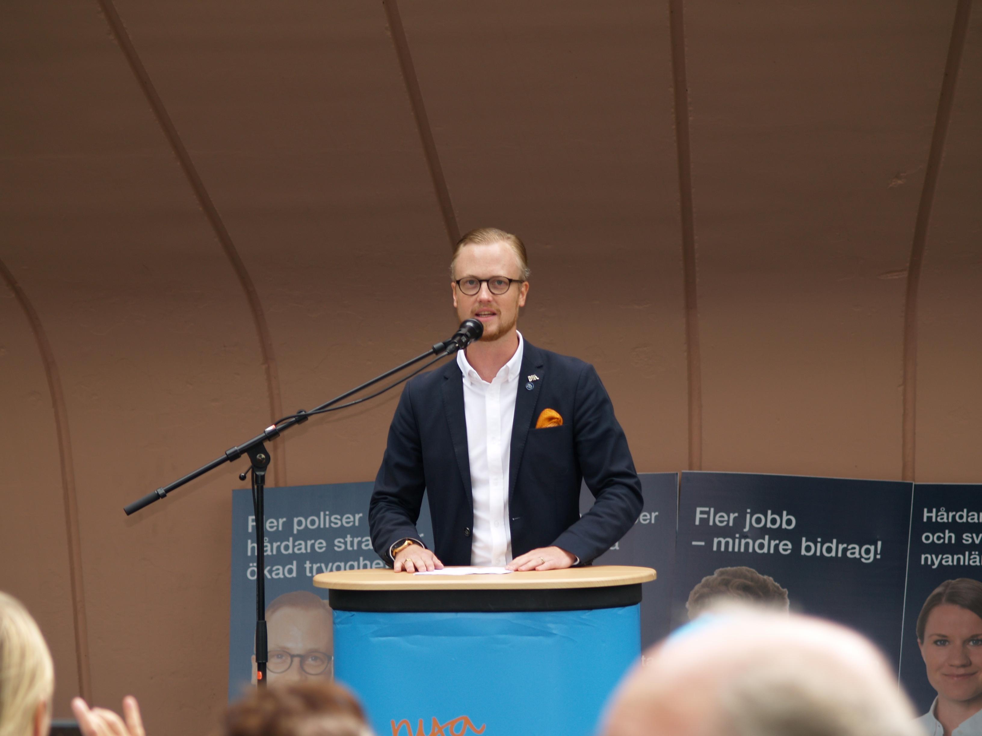 Ökat tillväxt och trygghet står i fokus för Moderaterna i Skellefteå