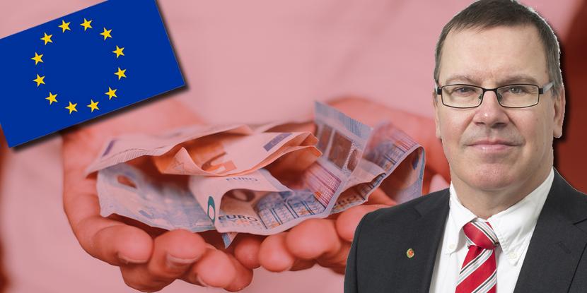Erik Bergkvist (S) vill höja EU-avgiften och ge EU beskattningsrätt
