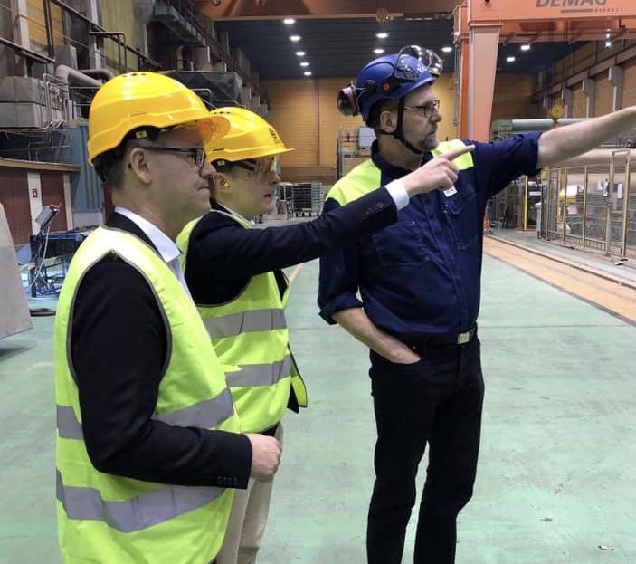 SCA investerar 7,5 miljarder i pappersbruket i Obbola