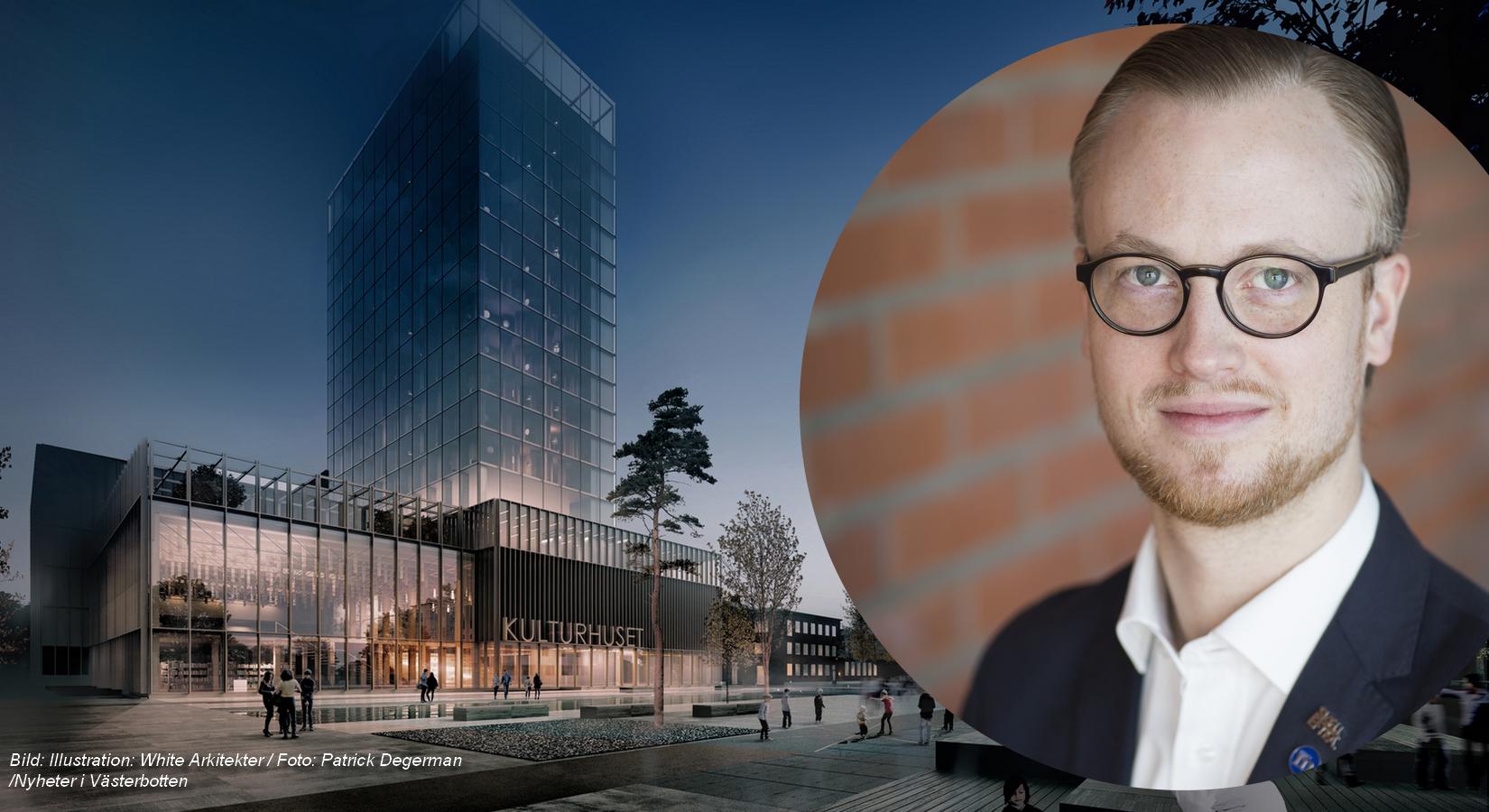Miljonfördyringar för Skellefteås kulturhus – oppositionsrådet oroad