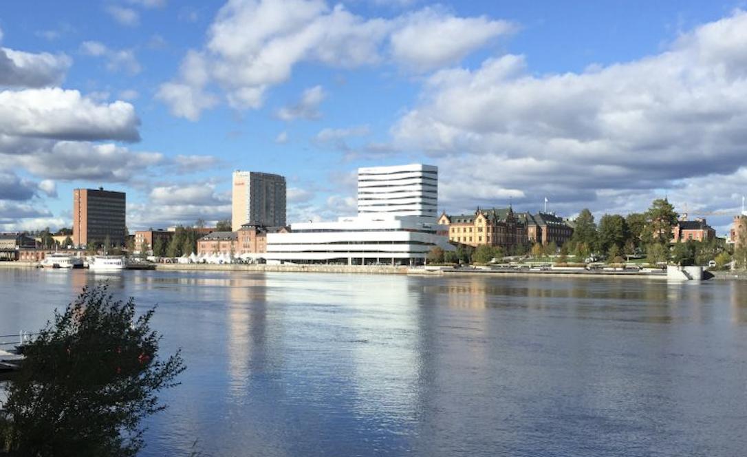 Allt bättre luft i centrala Umeå