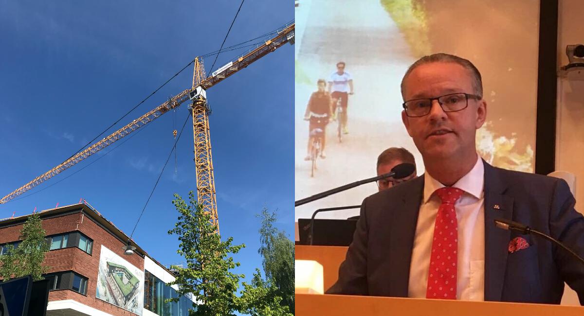Ågren (M) vill se fördubblat bostadsbyggande i Umeå
