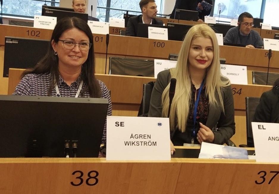 Ågren Wikström (M) invald i miljö- och klimatutskottet för EU:s Regionkommitté