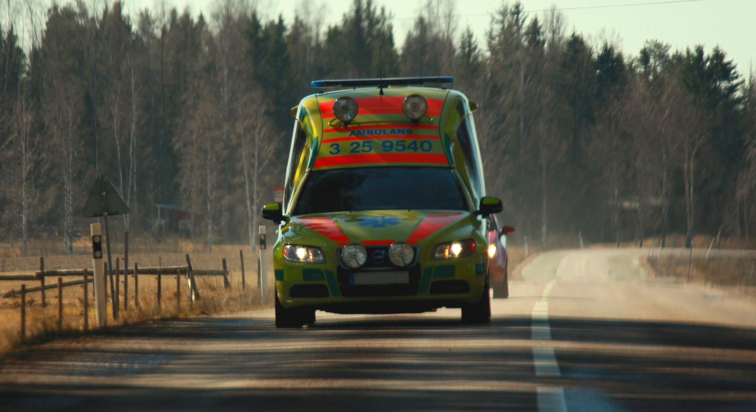 Moderaterna vill införa tidsmål för Västerbottens ambulansverksamhet