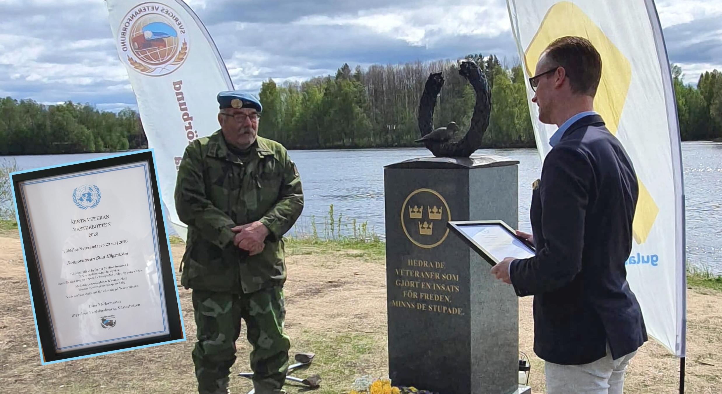 Sten Häggström – Årets Veteran i Västerbotten