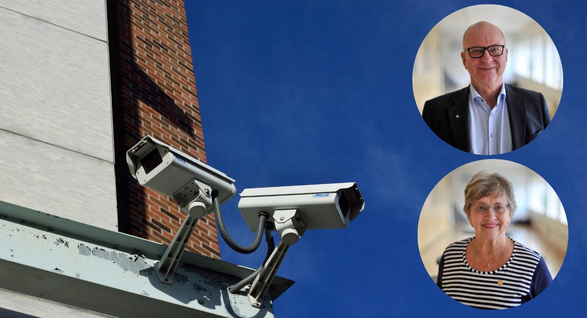 Moderaterna i Umeå vill öka tryggheten i kommunen – föreslår kamerabevakning