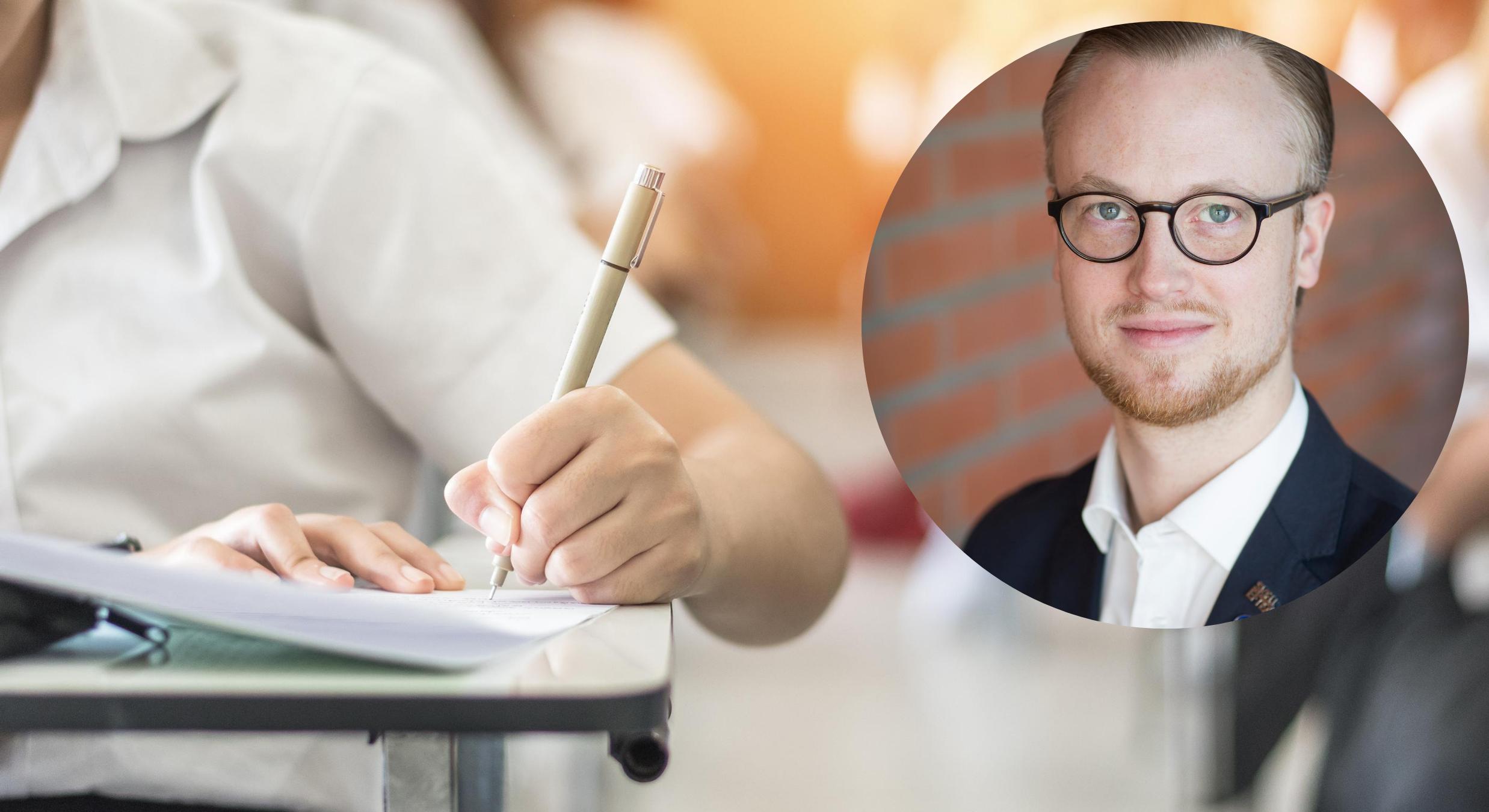 Kräver att högskoleprovet ska genomföras i Skellefteå