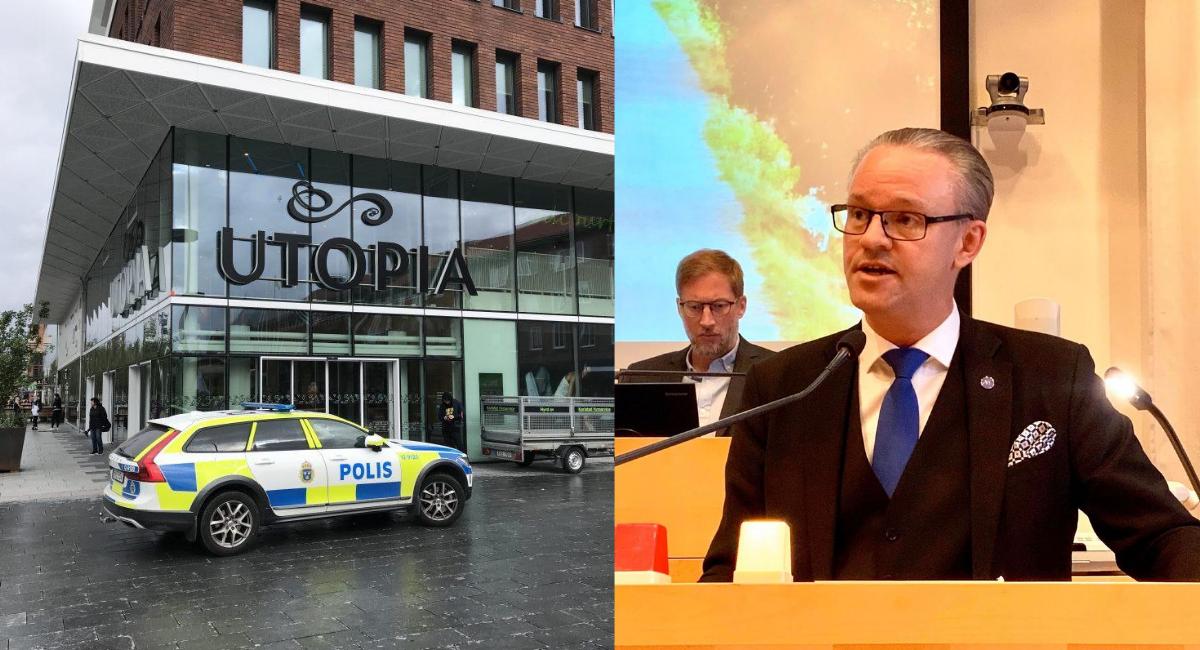 Ågren (M) kräver fler åtgärder för att motverka brottsligheten