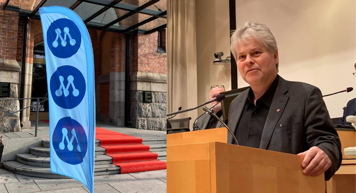 Årets skräll: tidigare S-politikern Christer Lindvall blir medlem i Moderaterna