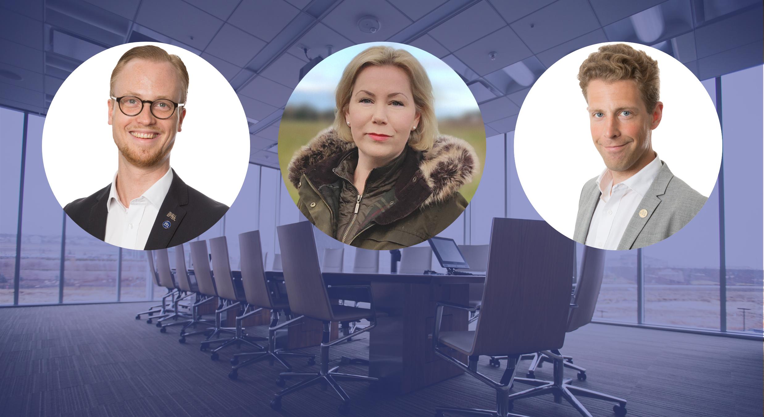Dolan och Söderberg ersätter föräldraledig Andreas Löwenhöök