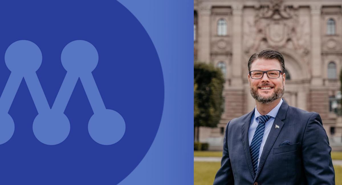 Edward Riedl omvald ordförande för Moderaterna i Umeå