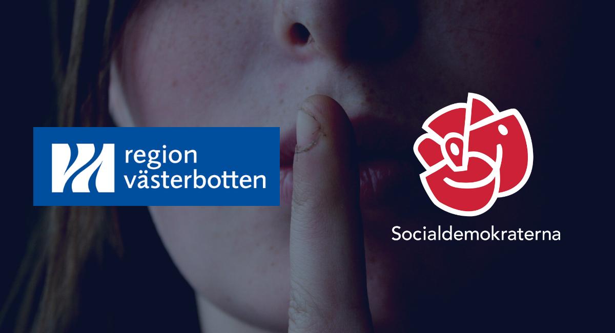 Efter Uppdrag granskning om tystnadskulturen i Region Västerbotten – M kräver återigen en visselblåsarfunktion