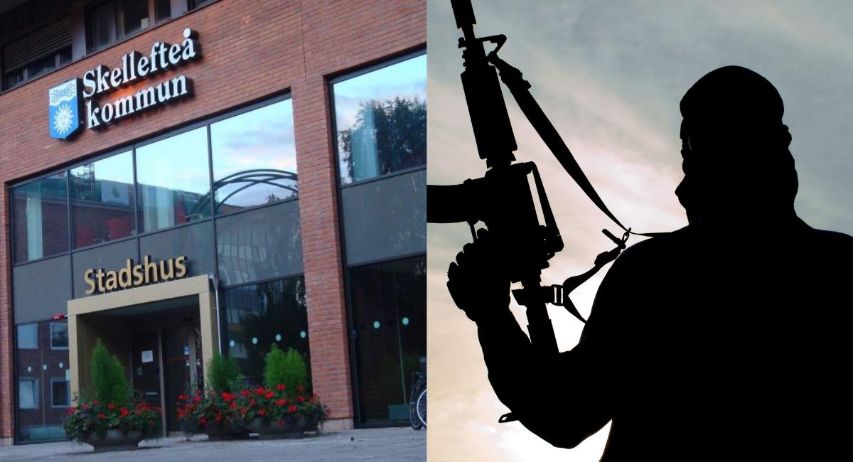 M-krav: Skellefteå kommun ska medverka till att lagföra IS-terrorister