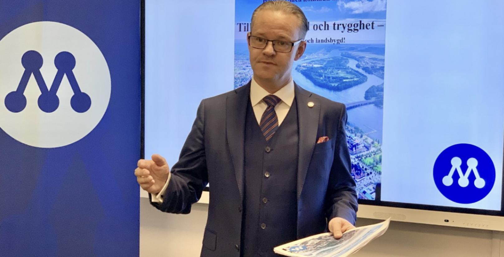 M-budget i Umeå: Satsningar på skola och äldre, sänkt skatt och besparingar på kulturen