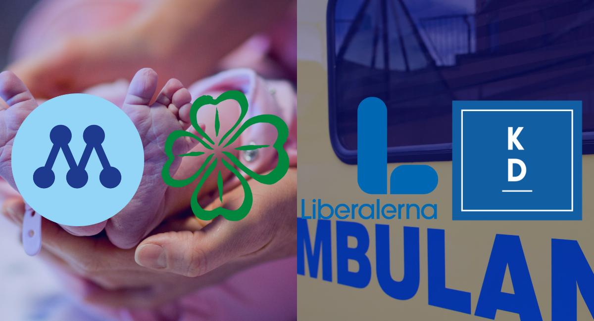Alliansen i Region Västerbotten vill satsa 22 miljoner kr på förlossningsvård och ambulans i ny verksamhetsplan