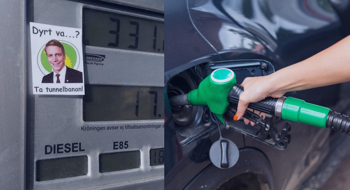 Bränslepriserna når nya rekord – här är listan på hur mycket partierna vill sänka skatten på bensin- och diesel